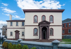 Touro Synagogue, the oldest surviving synagogue building in the U.S.