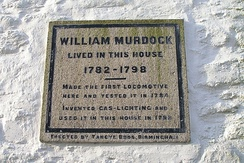 Plaque on Murdoch House