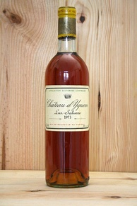 125 vintages of Château d'Yquem were the subject of Rodenstock's most famous tasting in 1998 (a bottle of vintage 1973 is pictured)