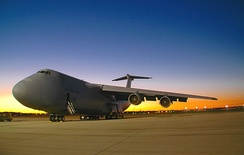 C-5 Galaxy at Wright-Patterson AFB