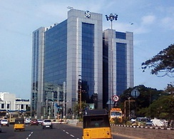 Ashok Leyland Corporate Headquarters in Guindy, Chennai.