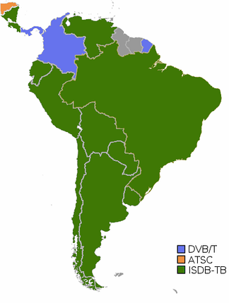 Digital Television in South America
