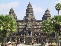Angkor Wat temple, Cambodia, early 12th century