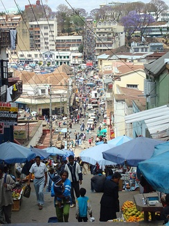 Антананариву— политическая и экономическая столица Мадагаскара
