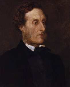 Lord Shaftesbury by George Frederick Watts.