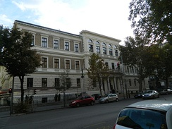 Budapest Business School, Hungary, the first public business school founded in 1857