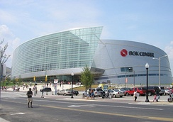The centerpiece of the Vision 2025 projects, the BOK Center, opened in August 2008.