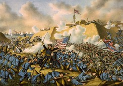 Union captures Fort Fisher, 1865