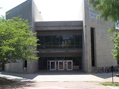 Bell Engineering Center contains the College of Engineering.