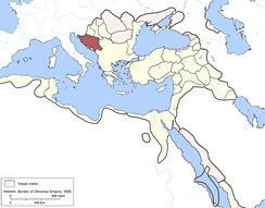 Bosnia Eyalet in 1609