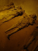 Mummies in the Capuchin Crypt in Brno