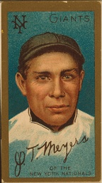 "John Tortes ""Chief"" Meyers was a catcher in major league baseball"