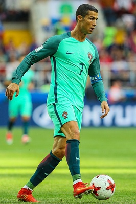 Cristiano Ronaldo is Portugal's most capped player and all-time top scorer.