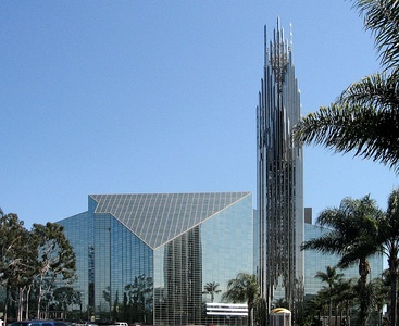 The Crystal Cathedral, Garden Grove, California (1980) and Tower (1990)