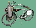 A steam-powered bicycle by John van de Riet, in Dortmund