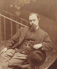 Dante Gabriel Rossetti, the subject of Waugh's first full-length book (1927)