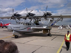 The restored and re-engined Do.24 ATT with Pratt & Whitney PT6A-45 turboprop engines