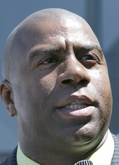 Magic Johnson was part of the ownership group that took over the Dodgers in 2012