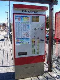 Viernheim ticket machine