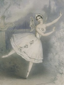 Carlotta Grisi as Giselle, 1841