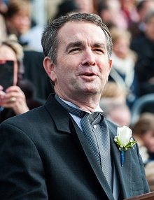 Governor Ralph Northam Gives Inaugural Address (39348612584) (cropped).jpg