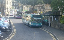 Holmfirth bus station