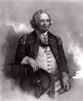 Israel Putnam, Major General in the American Revolution and the county's namesake