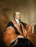 John Jay: Founding Father of the United States; author of The Federalist Papers; 1st Chief Justice of the United States; 2nd Governor of New York — King's College
