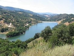 Guadalupe Reservoir at Almaden Quicksilver County Park