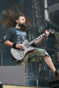 Mark Morton at Download Festival 2007