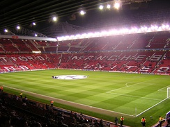 Old Trafford – home of Manchester United