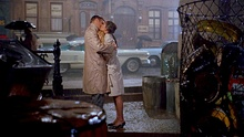 With George Peppard in Breakfast at Tiffany's (1961)
