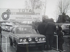 Plymouth Cricket, winner of the 1971 Press-on-Regardless Rally