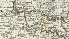 Territory of the Imperial City of Bremen on a late 18th century map