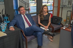 Ron and Casey DeSantis in January 2019