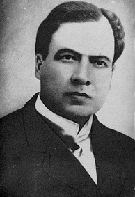 Rubén Darío, the founder of the modernismo literary movement in Latin America.