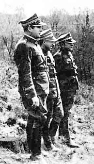 Polish generals on the Eastern Front