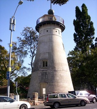 The Old Windmill in Wickham Park, built by convicts in 1828