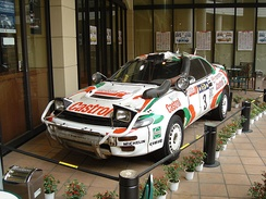 TTE's Celica GT-Four ST185 Group A in Safari Rally trim