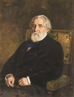 The novelist Ivan S. Turgenev made the term nihilism popular.