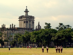 The Royal and Pontifical University of Santo Tomas, established by the Dominican missionaries in 1611 and raised to the rank of a University in 1645 by Pope Innocent X through the petition of Philip IV of Spain, is currently the educational institution with the oldest extant University charter in Asia.[1][2]