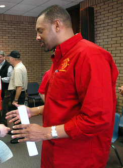 Vernon Jones, who also sought the Democratic nomination in the 4th district