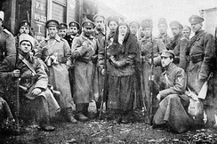 Anti-Bolshevik Volunteer Army in South Russia, January 1918