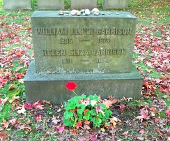Grave of William Lloyd Garrison