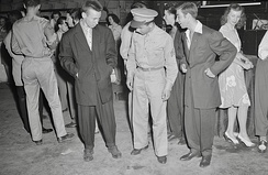 Zoot Suit Riots were a series of racial attacks in June 1943 in Los Angeles, California, United States, between Mexican American youths and European American servicemen stationed in Southern California.