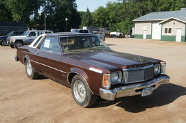 1976 Mercury Monarch (Shown with Ford Crown Victoria LX wheels)