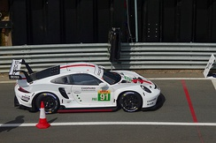 2019 Porsche 911 RSR (991) with side exhausts
