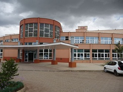 The Arusha Lutheran Medical Center in downtown Arusha