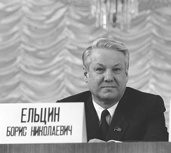 Boris Yeltsin, Russia's first democratically elected President