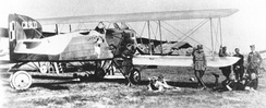 Polish Breguet 14 operating from Kiev airfield